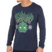 /achat-t-shirts-manches-longues/nqnt-tee-shirt-manches-longues-agartha-lezard-bleu-marine-97773.html