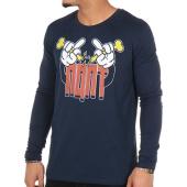 /achat-t-shirts-manches-longues/nqnt-tee-shirt-manches-longues-vald-fingers-bleu-marine-97787.html