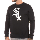 /achat-sweats-col-rond-crewneck/new-era-sweat-crewneck-chicago-white-sox-noir-100288.html