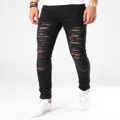 /achat-jeans/john-h-jean-slim-dechire-a1552-noir-100383.html