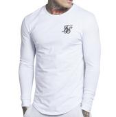 /achat-t-shirts/siksilk-tee-shirt-manches-longues-gym-10901-blanc-100741.html