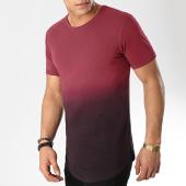 /achat-t-shirts-longs-oversize/lbo-tee-shirt-oversize-101-bordeaux-degrade-noir-101984.html