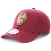 /achat-casquettes-de-baseball/iron-man-casquette-sb177805avg-bordeaux-102565.html
