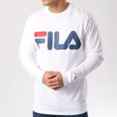 /achat-t-shirts-manches-longues/fila-tee-shirt-manches-longues-classic-logo-680485-blanc-103304.html