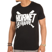/achat-t-shirts/hornet-la-frappe-tee-shirt-logo-noir-103240.html