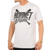 /achat-t-shirts/hornet-la-frappe-tee-shirt-logo-gris-chine-clair-103242.html