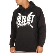 /achat-sweats-capuche/hornet-la-frappe-sweat-capuche-logo-noir-103311.html