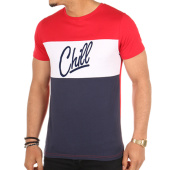 /achat-t-shirts/luxury-lovers-tee-shirt-chill-tricolore-rouge-blanc-bleu-103333.html