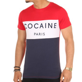 /achat-t-shirts/luxury-lovers-tee-shirt-cocaine-rouge-blanc-bleu-103349.html