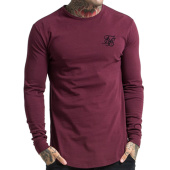 /achat-t-shirts-longs-oversize/siksilk-tee-shirt-manches-longues-oversize-gym-bordeaux-103443.html