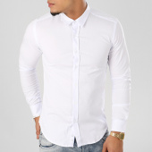 /achat-chemises-manches-longues/lbo-chemise-manches-longues-slim-fit-112-blanc-103626.html