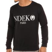 /achat-sweats-col-rond-crewneck/ndeko-sweat-crewneck-typo-noir-blanc-103799.html
