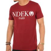 /achat-t-shirts/ndeko-tee-shirt-typo-bordeaux-103808.html