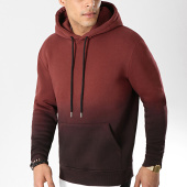 /achat-sweats-capuche/lbo-sweat-capuche-223-bordeaux-degrade-noir-104451.html