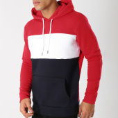 /achat-sweats-capuche/lbo-sweat-capuche-192-bleu-marine-blanc-rouge-104788.html