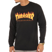 /achat-t-shirts-manches-longues/thrasher-tee-shirt-manches-longues-flame-logo-noir-104807.html
