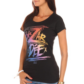 /achat-t-shirts/keblack-tee-shirt-femme-bazardee-noir-105205.html