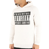 /achat-sweats-capuche/parental-advisory-sweat-capuche-classic-logo-beige-105491.html