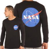 /achat-t-shirts-manches-longues/nasa-tee-shirt-manches-longues-insignia-noir-105606.html