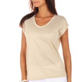 https://www.laboutiqueofficielle.com/achat-t-shirts/tee-shirt-femme-moster-dore-106170.html