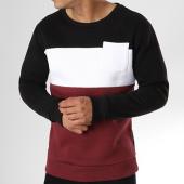 /achat-sweats-col-rond-crewneck/lbo-sweat-crewneck-213-tricolore-noir-blanc-bordeaux-106329.html