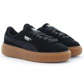/achat-baskets-basses/puma-baskets-femme-suede-platform-animal-365109-01-black-silver-107615.html