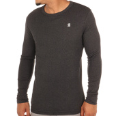 /achat-t-shirts-manches-longues/g-star-tee-shirt-manches-longues-dill-d04457-1141-gris-anthracite-chine-107839.html