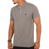 /achat-polos-manches-courtes/selected-polo-manches-courtes-haro-gris-107971.html