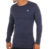 /achat-t-shirts-manches-longues/g-star-tee-shirt-manches-longues-dill-d04457-1141-bleu-marine-chine-108527.html