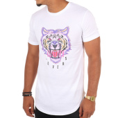 /achat-t-shirts-longs-oversize/luxury-lovers-tee-shirt-oversize-tiger-blanc-108925.html