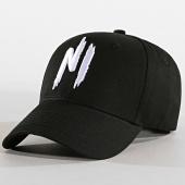 /achat-casquettes-de-baseball/ninho-casquette-baseball-logo-noir-blanc-109052.html