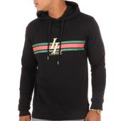 /achat-sweats-capuche/luxury-lovers-sweat-capuche-stripes-noir-109149.html