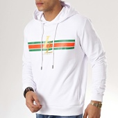 /achat-sweats-capuche/luxury-lovers-sweat-capuche-stripes-blanc-109150.html