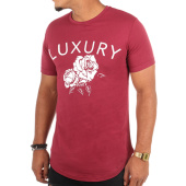 /achat-t-shirts-longs-oversize/luxury-lovers-tee-shirt-oversize-flower-bordeaux-109167.html