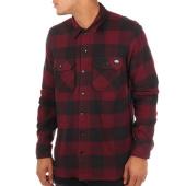 /achat-chemises-manches-longues/dickies-chemise-manches-longues-sacramento-noir-bordeaux-110740.html