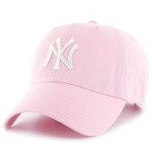/achat-casquettes-de-baseball/47-brand-casquette-47-clean-up-new-york-yankees-rose-blanc-111367.html