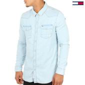 /achat-chemises-manches-longues/tommy-hilfiger-denim-chemise-manches-longues-3047-bleu-wash-111450.html