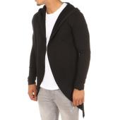 /achat-cardigans-gilets/frilivin-gilet-capuche-oversize-7044-noir-111717.html