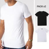 /achat-t-shirts/lbo-lot-de-2-tee-shirts-moulant-93-noir-et-blanc-92632.html