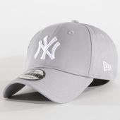 /achat-casquettes-de-baseball/new-era-casquette-9forty-league-basic-new-york-yankees-gris-blanc-70474.html