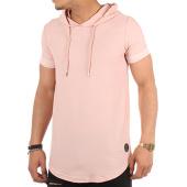 /achat-t-shirts-longs-oversize/project-x-tee-shirt-oversize-capuche-88171154-rose-101008.html