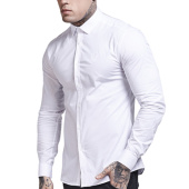 /achat-chemises-manches-longues/siksilk-chemise-manches-longues-fitted-stretch-blanc-112231.html
