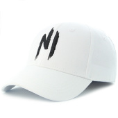 /achat-casquettes-de-baseball/ninho-casquette-blanc-logo-noir-112452.html