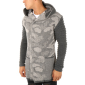 /achat-cardigans-gilets/ikao-cardigan-zippe-capuche-f3479-gris-anthracite-camouflage-112775.html