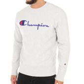 /achat-sweats-col-rond-crewneck/champion-sweat-crewneck-210975-gris-chine-113392.html