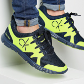 /achat-baskets-basses/calvin-klein-baskets-murphy-mesh-navy-yellow-fluo-113732.html