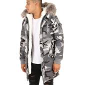 /achat-parkas/project-x-parka-fourrure-88175533-gris-camouflage-113933.html
