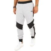 /achat-pantalons-joggings/unkut-pantalon-jogging-open-gris-chine-noir-114245.html