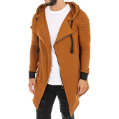 /achat-sweats-zippes-capuche/john-h-sweat-zippe-capuche-oversize-956-camel-114393.html