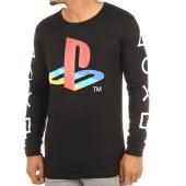 /achat-t-shirts-manches-longues/playstation-tee-shirt-manches-longues-classic-logo-noir-114642.html